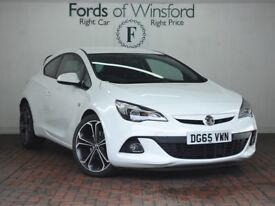 VAUXHALL GTC 1.4t 16v Limited Edition [VXR Styling Pack] 3dr (white) 2015
