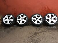 """Audi S line wheels and tyres 18"""""""
