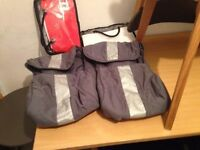 Mclaren XT Pushchair Accessories - 2 Comfort Packs and 2 Cosy Toes Foot Muffs All Brand New