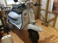 Scomadi TL50 Scooter Moped