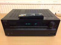 ONKYO TX-NR515 HDMI, USB/IPOD, 3D, NETWORK SPOTIFY, RADIO 7.2 RECEIVER, FULLY TESTED & WORKING.