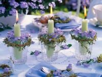 Looking for purple & silver decor