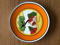 """CLARICE CLIFF Wedgwood Plate """"RED ROOFS"""""""