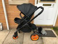 iCandy Peach 3 Designer Collection Pram Travel System
