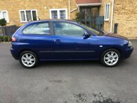 SEAT IBIZA 2002, PETROL 1,4, MANUAL, EXCELLENT CONDITION