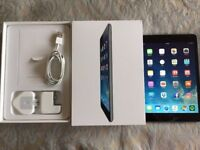 Apple iPad Mini 2 Retina Screen, 16GB, WiFi, Space Grey cracked screen works per