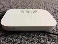 SKY Q BOOSTER BOX AND 2 SKY Q REMOTES