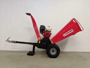 HOC PME-WC13 HONDA 13 HP PROFESSIONAL WOOD CHIPPER TOWABLE WOOD CHIPPER + 2 YEAR WARRANTY + FREE SHIPPING