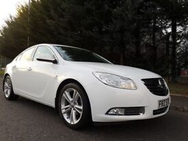 2012 VAUXHALL INSIGNIA SRI 2.0 CDTI 158BHP 6SPEED *WHITE* EXCELLENT EXAMPLE MOT JANAUARY 2019