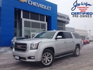 2015 GMC Yukon XL SLT LEATHER SUNROOF 4X4 8-PASSENGER!!!