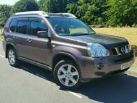 2008 NISSAN X-TRAIL EXPLORER EXT'M DCI*FSH*1 OWNER*LEATHER*SAT-NAV*PAN-ROOF*PARKING CAMERA*#JEEP#CRV