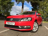 2013 (13) Volkswagen Passat Estate 2.0 Highline TDi Bluemotion SatNav DAB Radio Tow Bar £30 Tax