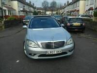 Mercedes S320L panoramic roof amg version price £7400