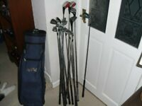 Set Comprising 14 Clubs & Memphis Bag, 9 x Seal Oversize SL200 Irons & 3 Ping & 1 Other Woods