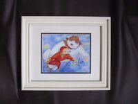 """Framed Print of """"The Snowman"""" Signed by Aled Jones with Provenance."""