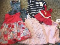Girls 6-9 small summer bundle next dresses
