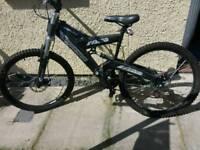 Mens full suspension bike