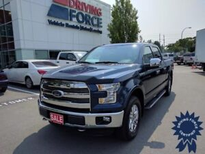 2016 Ford F-150 Lariat Super Crew 4x4 - 7,102 KMs, 5 Passenger