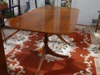Dining Table Circa 1932 6 Chairs Edwardian