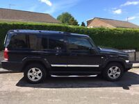 Much Loved Jeep Commander3.0 CRD V6 Limited 4x4, Auto, 7 Seater for Sale