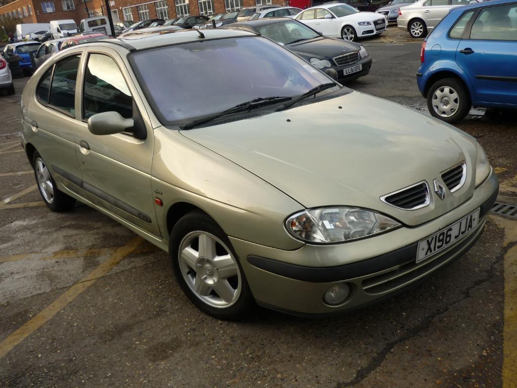 Renault Megane RT Sport Alize 16v 5dr (green) 2000