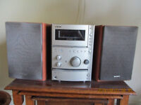 Sony Micro hi fi system 2 separate speakers