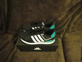 ddab3da500ada ... spain 2016 jan adidas neo 10k mens training running shoes. black knight  green 6f1f1 2dd33