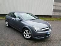 2007 VAUXHALL ASTRA 1.6 SXI 3 DOOR COUPE GREY LOW MILEAGE F.S.H LONG MOT HPI CLEAR