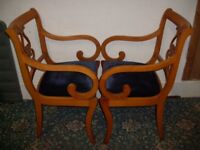Wooden Curved Style Armchairs ID 161/2/18