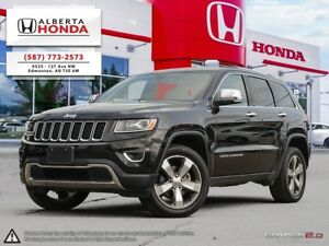 2016 Jeep Grand Cherokee Limited   Accident Free   3.6-Liter V6