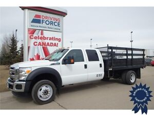 2015 Ford Super Duty F-550 XLT Crew Cab 4x4 - 36,602 KMs, 6.8L