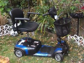 Prism Mercury 4 Wheeled Mobility Scooter Excellent Nearly New Condition