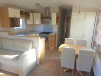 Brand new static caravan for sale INC 2018 fees/patio doors/choice of 12 parks/Skegness/Mablethorpe