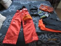 JOB LOT UNISEX SKY/SNOW/WINTER KIDS CLOTHES SIZE 8/9 y. VERY GOOD CONDITION