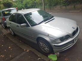 BMW 318 auto e46 yr2000 engine damage