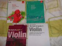 ABRSM VIOLIN GRADE 4 BOOKS