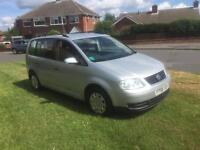 2006 Volkswagen touran 7 seater 1.9 tdi s best one 135k much sought after being the more reliable