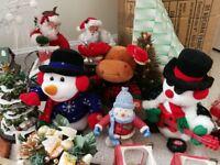 Massive bundle of Christmas decorations
