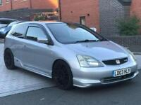 2003 Honda Civic Type R 2.0 30th Anniversary Supercharged 320bhp Track Car HPI Clear