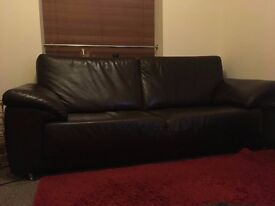 Original Leather Sofas, colour: Dark Brown