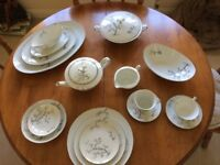 Noritake (KC) willow pattern dinner and tea service.