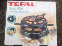 Tefal raclette grill gourmet kitchen appliance