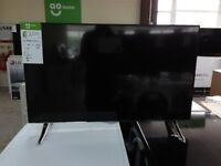 "Techwood 40AO2USB 40"" Smart 4K Ultra HD TV - Black COLLECTION ONLY #E137481"