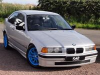 BMW E36 318ti Compact, Manual, 1999 / V Reg, Only 75k Miles, MOT: December, Coilover Suspension