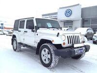 2010 Jeep WRANGLER UNLIMITED Sahara 4D Utility 4WD Like New!!
