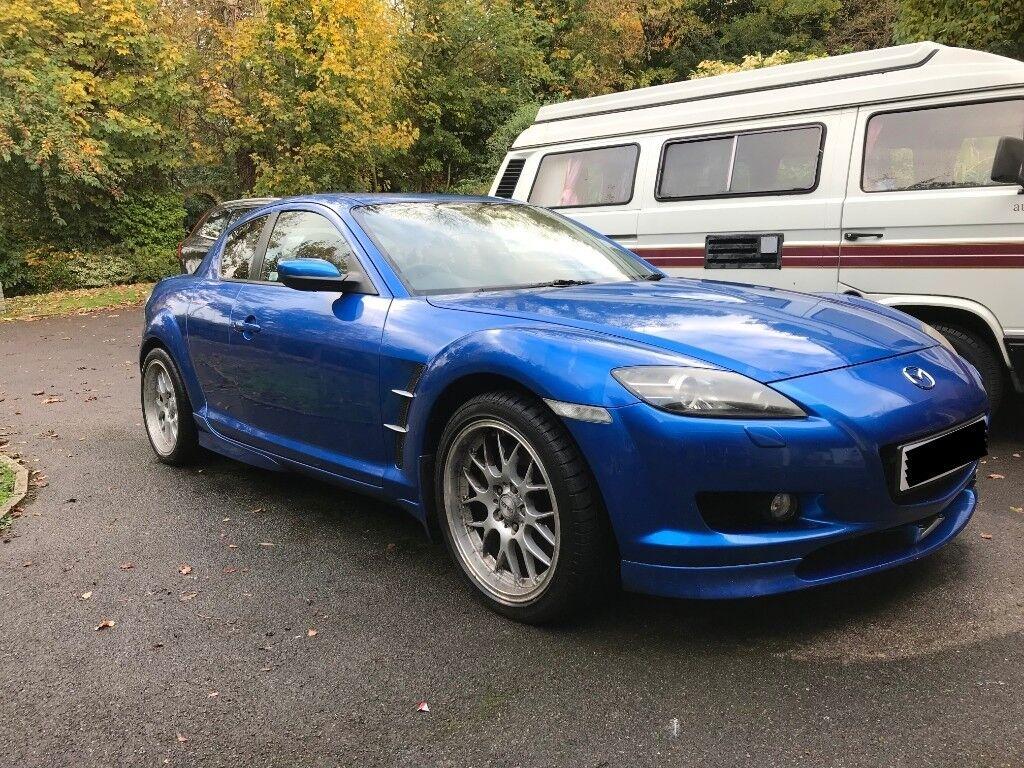 mazda rx8 2004 blue