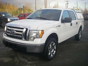 2012 Ford F-150 XLT SuperCrew 5.5-ft. Bed 4WD with Service Box a