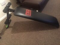 Pro power ab sit up bench - easily foldable - good quality