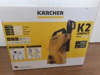 Brand new karcher k2 compact pressure washer. Brand new, un opened box. Unwanted gift.