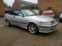 2001 Saab 93 2.0 Turbo Convertible - 1 Months Warranty